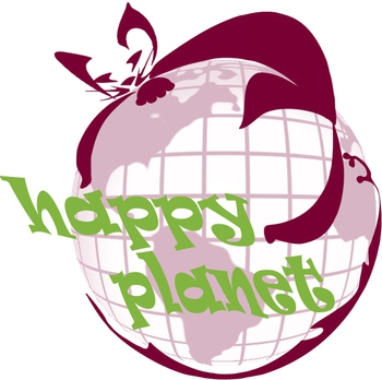 "Logo of ROOLZH ""Happy Planet Samara"" club"